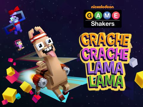 Game Shakers : crache crache lama lama
