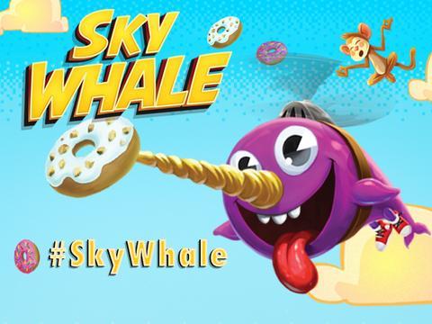 Télécharge l'appli GRATUITE : Sky Whale !