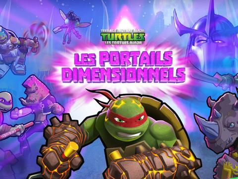 Les Tortues Ninja : Les portails dimensionnels