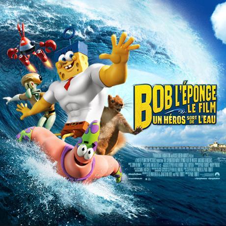 Bob L'Éponge, Le Film: Un Héros Sort De L'Eau