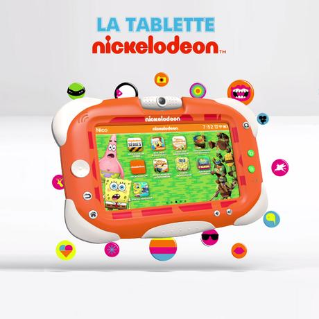 La tablette NICKELODEON