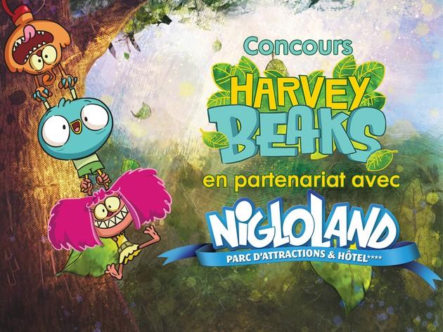 Concours Nigloland | Harvey Beaks