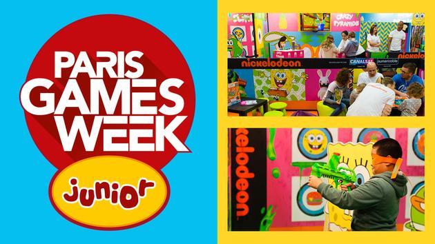 Gagnez votre pass 1 journée pour 2 personnes pour la Paris Games Week Junior