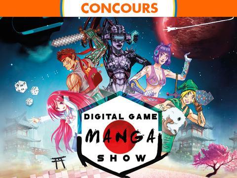 Concours Digital Game'Manga Show