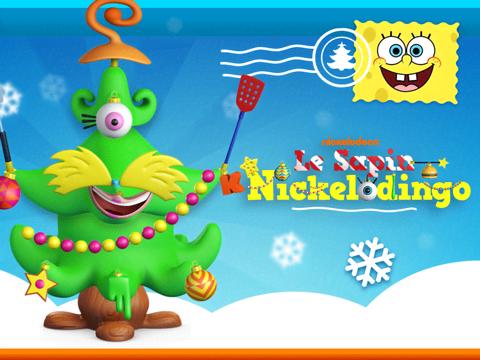 Crée ton sapin Nickelodingo et gagne des cadeaux !
