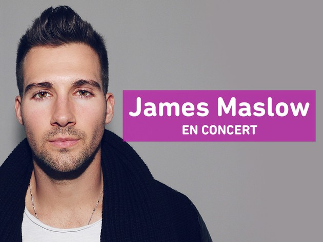 James Maslow en concert
