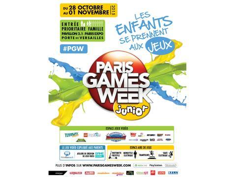 Jeu concours PARIS GAMES WEEK JUNIOR