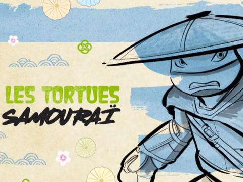 Tortues Samouraï | Episodes inédits 25 novembre @ 9h25 sur NICKELODEON