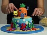 Crée ton gâteau Bob l'éponge !