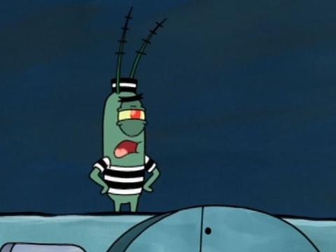 Plankton en prison