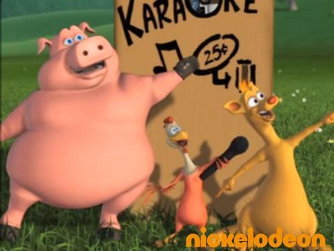 Le karaoké - La Ferme en folie