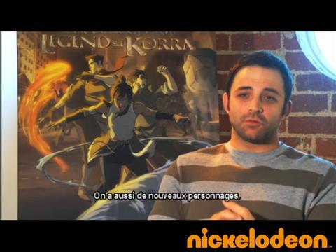 Les coulisses - La légende de Korra