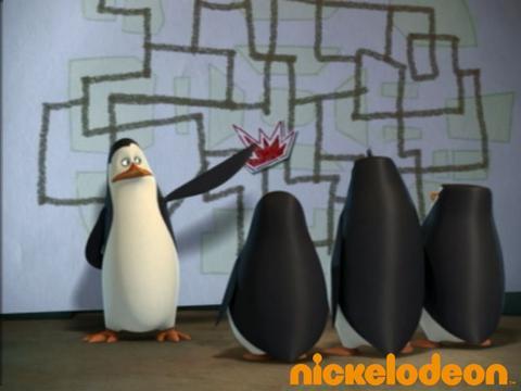 Les pingouins dans le tunnel - Les Pingouins de Madagascar