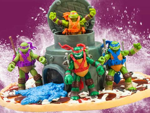 Crée ton gâteau Tortues Ninja !