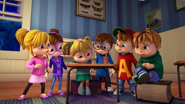 Visszatér a képernyőre ALVINNN!!! és a mókusok