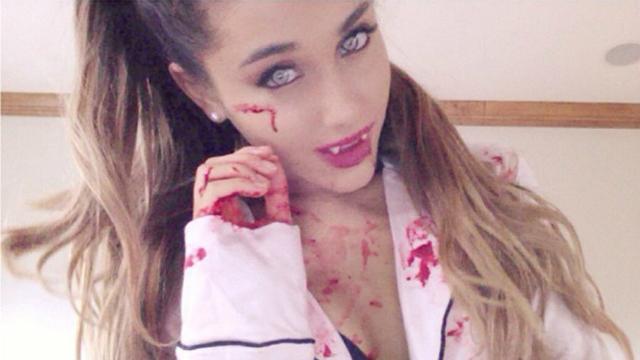 Ariana Grande tuti jelmezei Halloweenra
