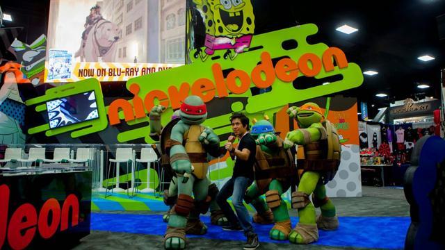 Ilyen volt a Nickelodeon a Comic Conon