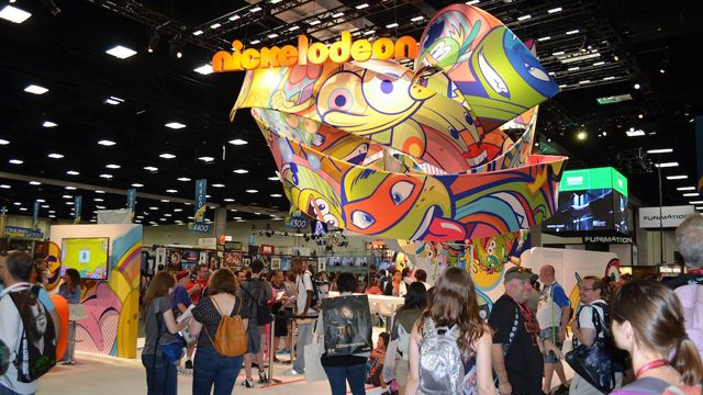 Nickelodeon - 2014 Comic Con