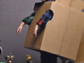 Kartondínó: pár doboz és némi ragasztó kell csak hozzá!