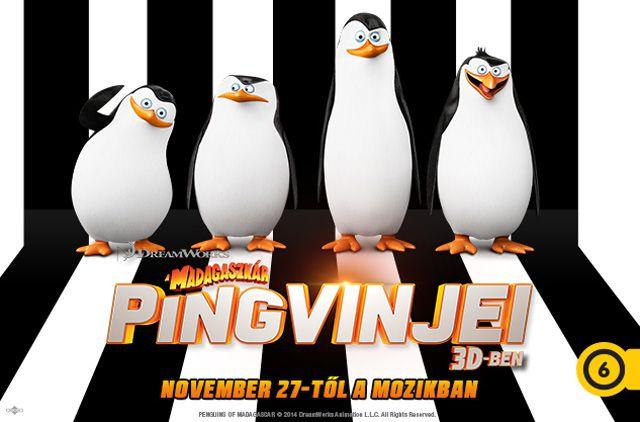 Madagaszkár pingvinjei