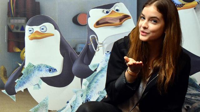 Pingvinek között kapták lencsevégre Palvin Barbit