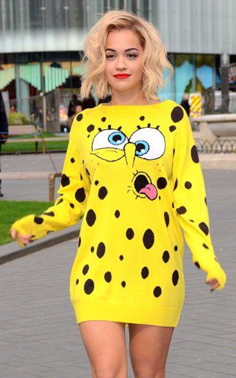 Íme Rita Ora és SpongyaBob!
