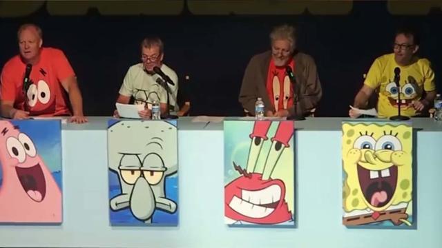 Láttad már a SpongyaBob eredeti szinkronhangjait?