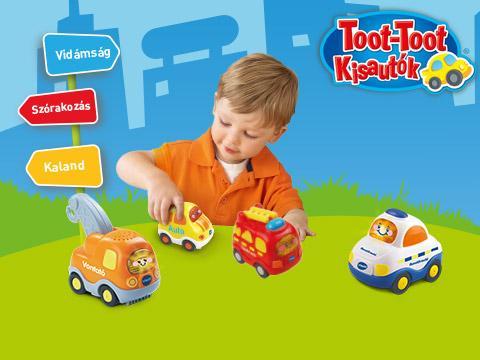 Játssz a Toot-Toot Kisautók játékával és nyerj!