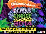 E o vencedor do passatempo 'Leva a tua família ao Kids' Choice Awards' é...