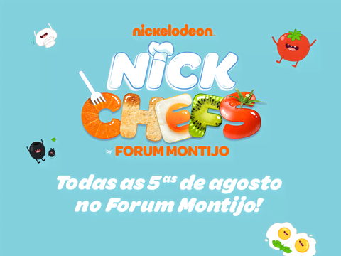 Assiste ao Nick Chefs, todas as quintas de Agosto, no Forum Montijo!