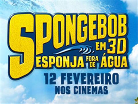 «Esponja Fora de Água» chega aos cinemas