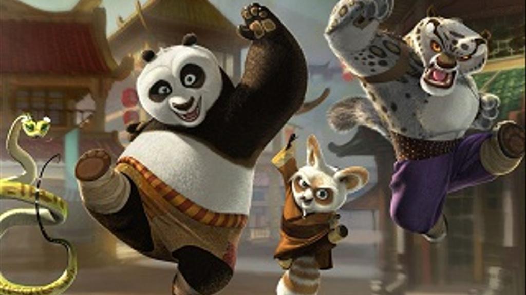 O Panda do Kung Fu está de volta!