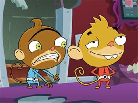 Novos episódios de Rocket Monkeys