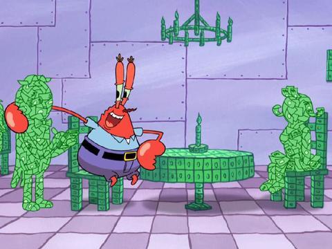 O Krabs Adora Dinheiro!