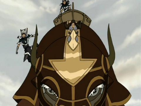 Avatar - O Dia do Sol Negro, Parte 2: O Eclipse