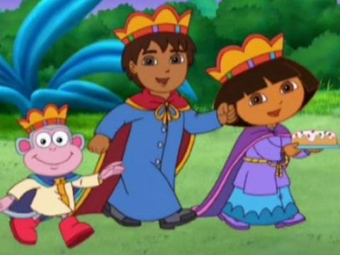 Dora, a Exploradora: Dora Salva os Três Reis Magos