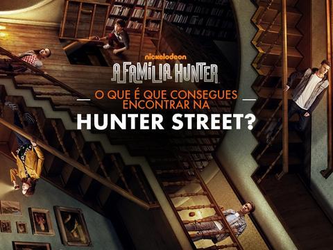 O que consegues encontrar na casa dos Hunter?