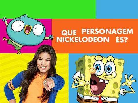 Que personagem Nickelodeon és?