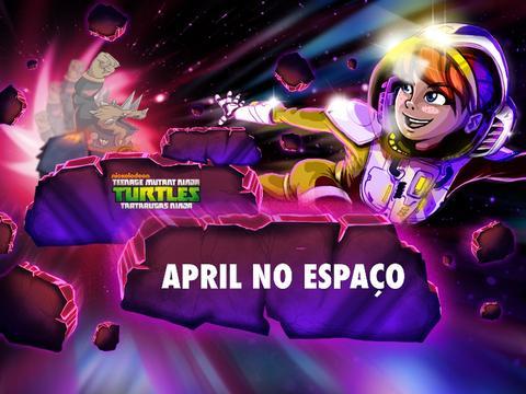 Tartarugas Ninja: April no Espaço