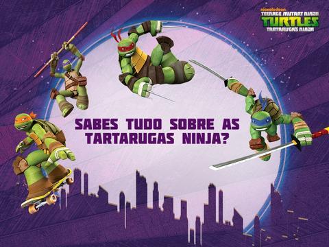 Sabes tudo sobre as Tartarugas Ninja?