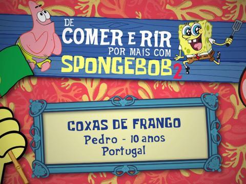 De Comer e Rir Por Mais Com SpongeBob 2: Coxas de Frango
