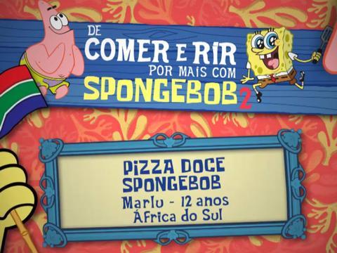 De Comer e Rir Por Mais Com SpongeBob 2: Pizza Doce SpongeBob