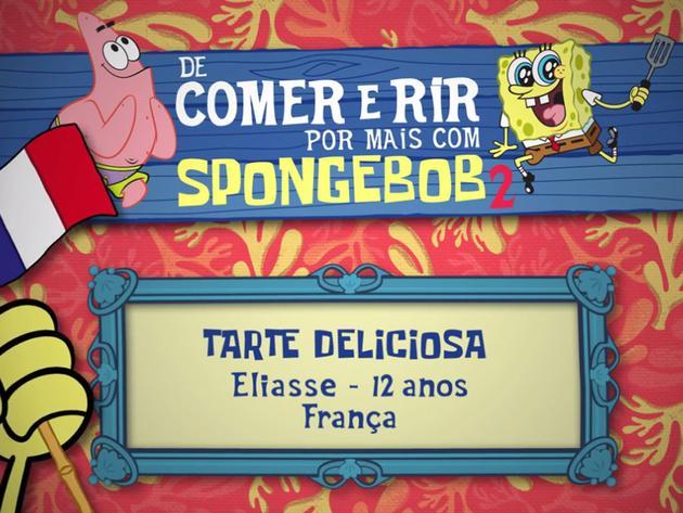 De Comer e Rir Por Mais Com SpongeBob 2: Tarte Deliciosa