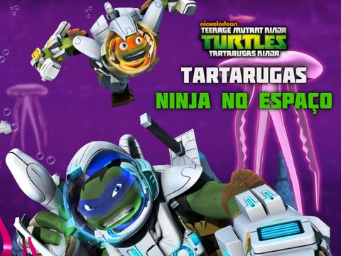 Tartarugas Ninja: Tartarugas no Espaço