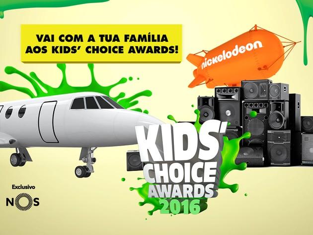 VAI AOS KIDS' CHOICE AWARDS COM O NICKELODEON E A NOS!