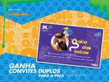 """Ganha convites duplos para a peça """"O Gato das Botas""""!"""