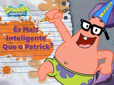 SpongeBob SquarePants: És Mais Inteligente Que o Patrick?