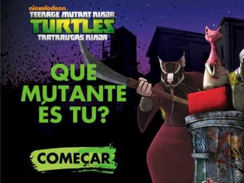 Tartarugas Ninja: Que Mutante És Tu?