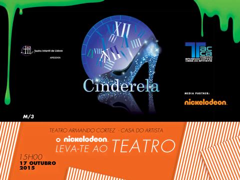 """Ganha convites familiares para a peça """"Cinderela""""!"""