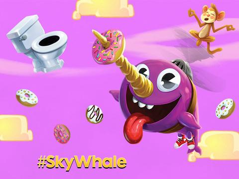 Faz download da nova app SKY WHALE!